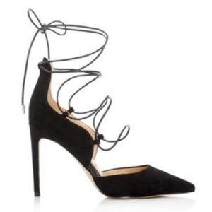 Sam Edelman Dayna black suede heels pumps stiletto